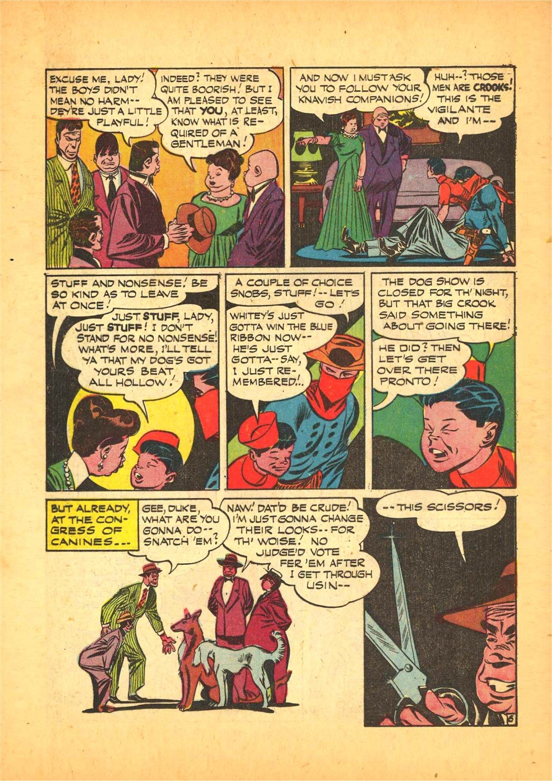 Read online Action Comics (1938) comic -  Issue #68 - 21