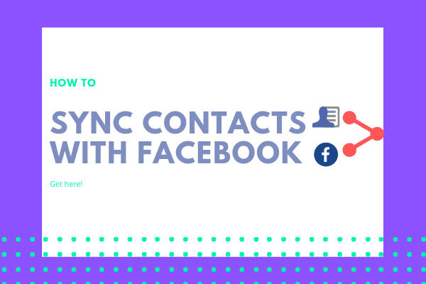 Sync Iphone Contacts With Facebook<br/>