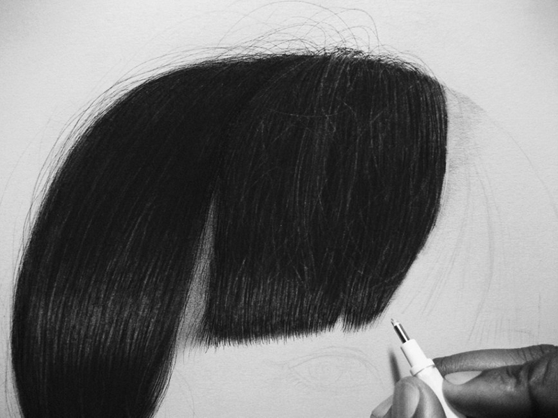 The realistic pencil drawings of Kevin Okafor on if it's hip, it's here
