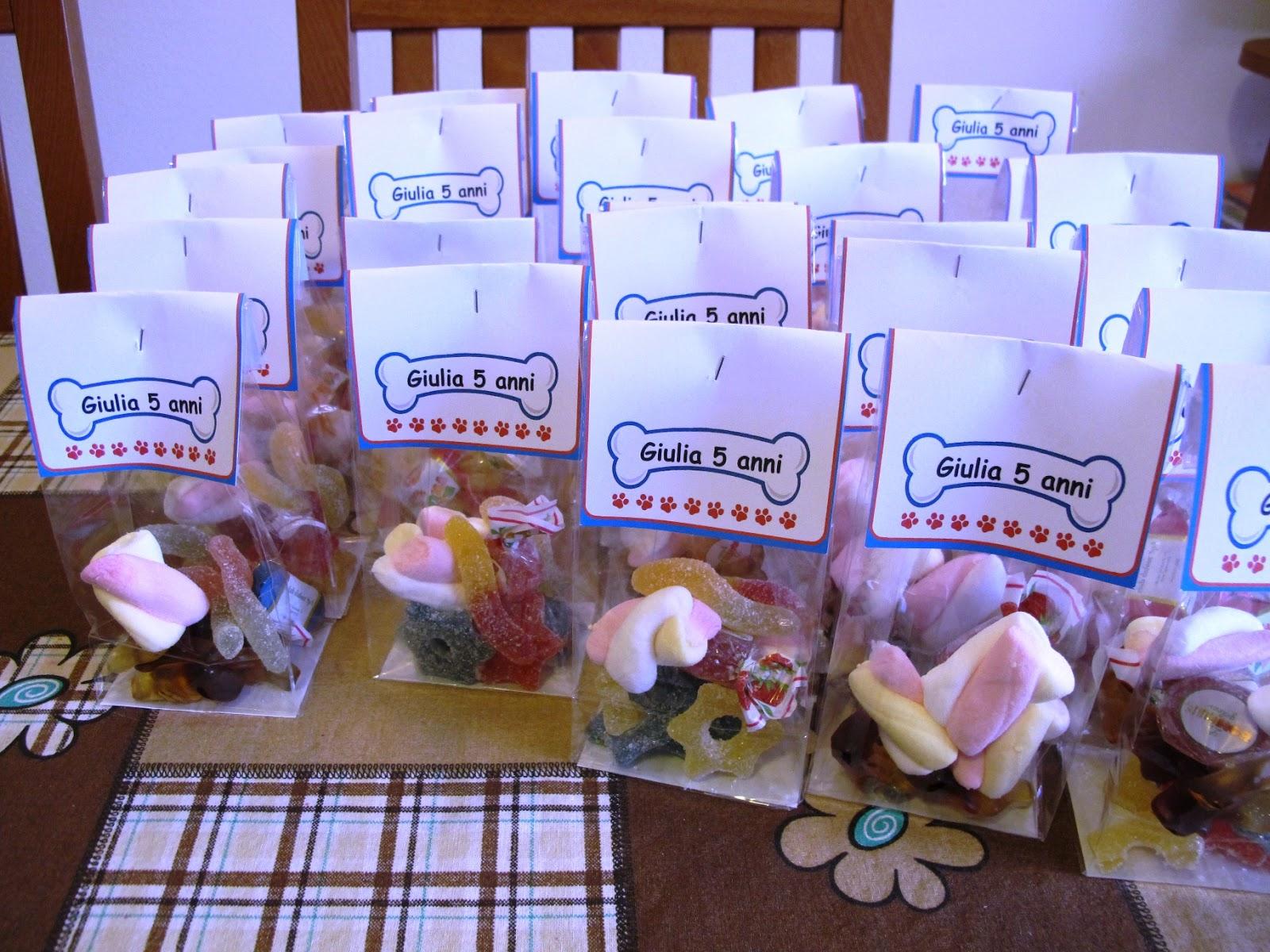 Preferenza Angolino di Liana: Sacchetti Caramelle Compleanno Paw Patrol QW86