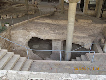 Underground dwellings of Jews and early Christians, Shrine Basilica of The Anunciation, Nazareth
