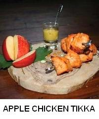 Apple Chicken Tikka