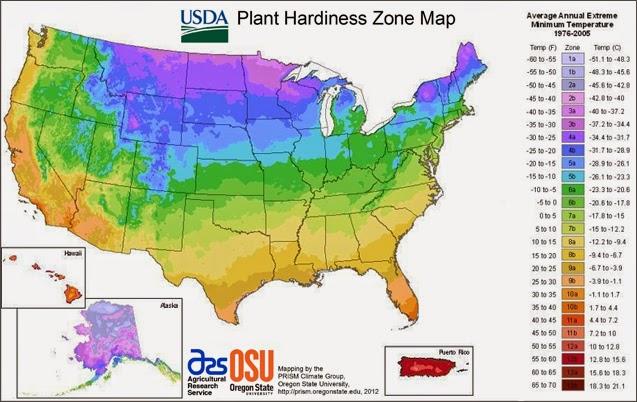 Cartina Italia Zone Climatiche.Il Gusto Della Natura Che Cosa E L Usda Plant Hardiness Zone E L Ahs Heat Zone