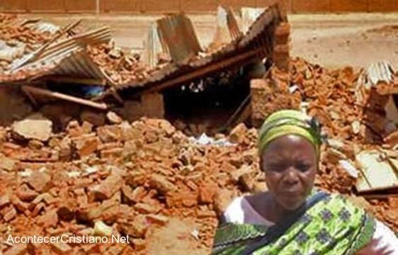 Demolición de iglesia cristiana en Sudán