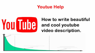 write sunder and awesome youtube video description