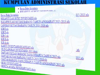 Kumpulan File Administrasi Sekolah Terbaru SD/MI|SMP/MTS|SMA/MA/SMK Lengkap `