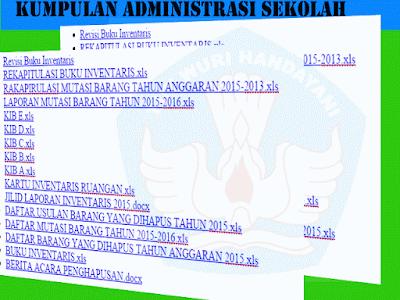 Kumpulan File Administrasi Sekolah SD/MI|SMP/MTS|SMA/MA/SMK Lengkap