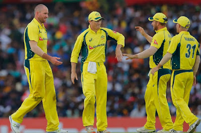 Australia Beat Sri Lanka in the Fourth One Day International