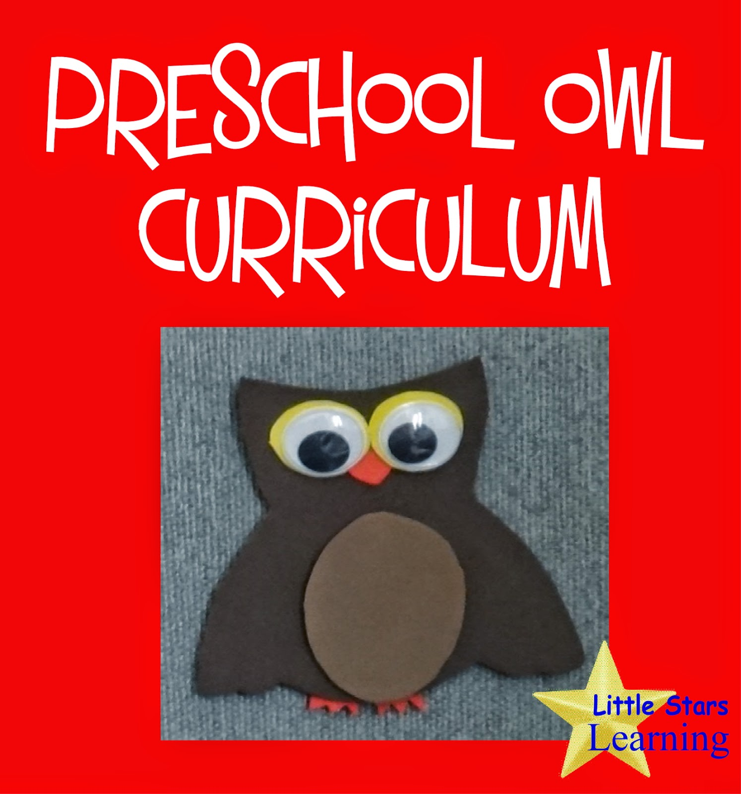 Little Stars Learning Preschool Owl Theme Curriculum