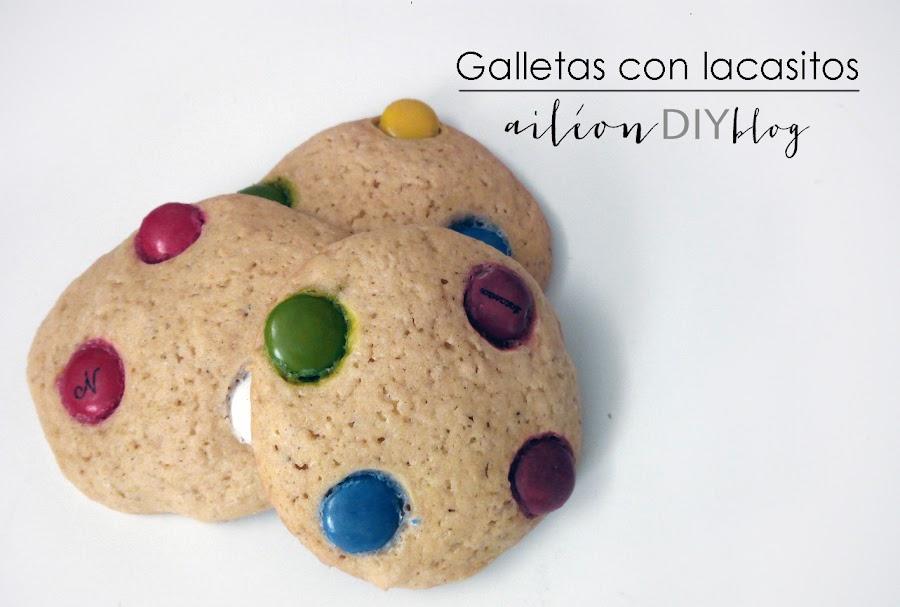 galletas cookies lacasitos chips chocolate