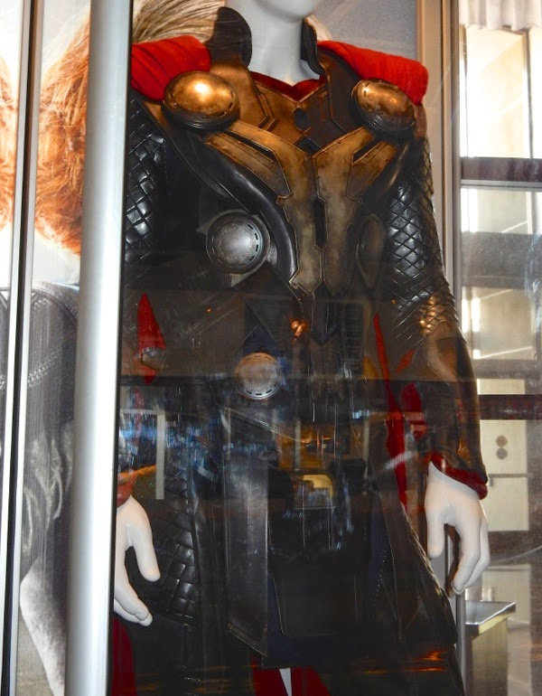 Thor costume detail Avengers Age of Ultron