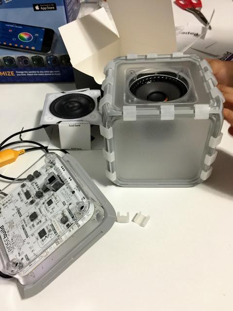 stem BOSEbuild Speaker Cube