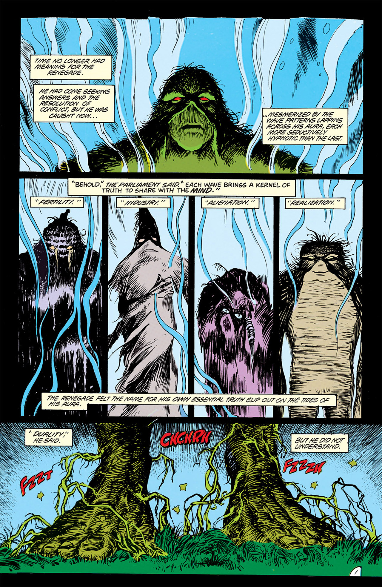 Swamp Thing (1982) Issue #69 #77 - English 2