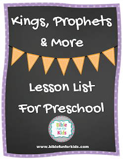 http://www.biblefunforkids.com/2017/09/3-kings-prophets-more-lesson-links-for.html