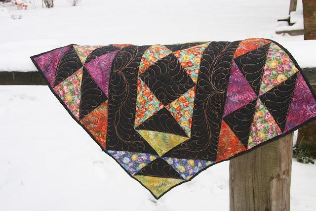 стежка перья, лоскутное одеяло