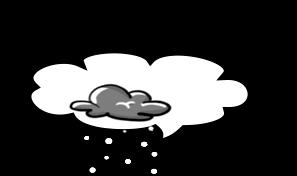 Plaquinha nuvem - criação Blog PNG-Free
