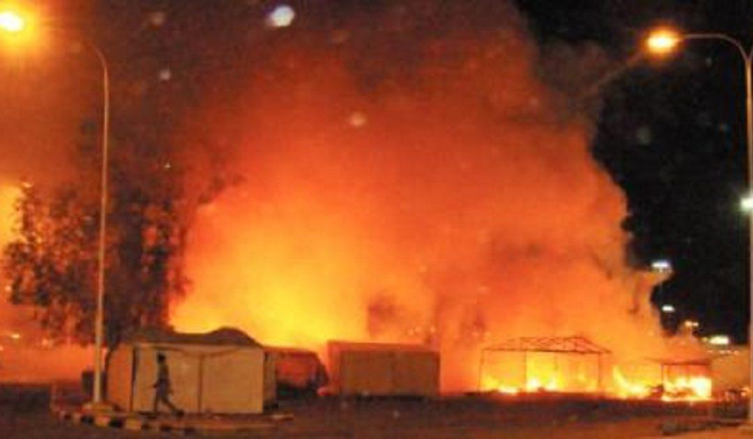 مقتل ستيني في حريق داخل معمل بمراكش