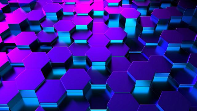 Hexagones 3D Texture - Fond d'écran en Full HD