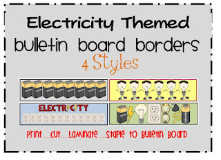 electricity bulletin board borders