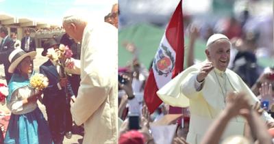 El Perú de Juan Pablo II y el de Francisco