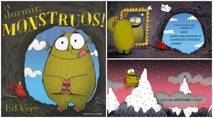selección cuentos sobre miedo a los monstruos y como superarlo: a dormir, monstruos