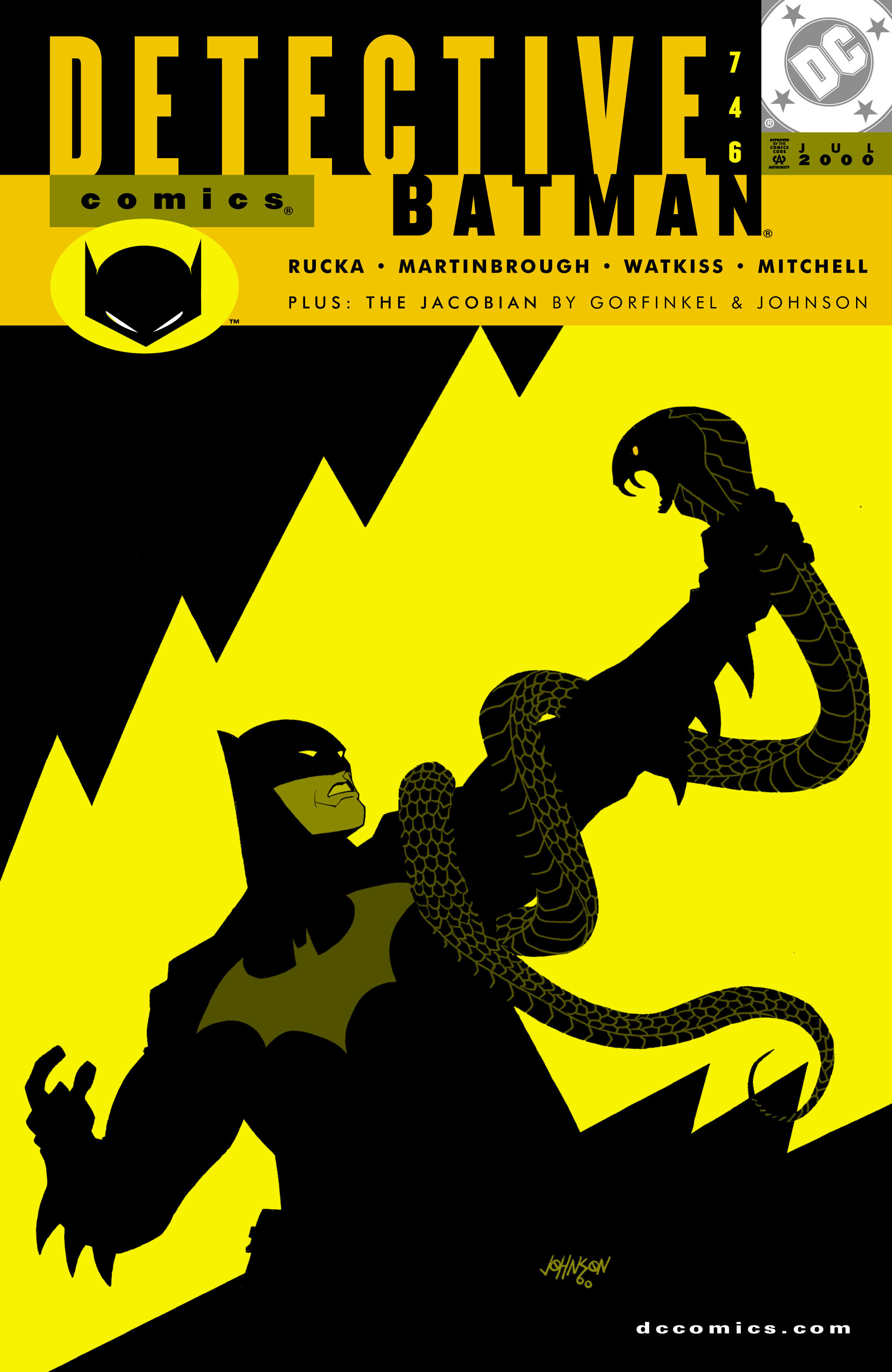 Detective Comics (1937) 746 Page 1