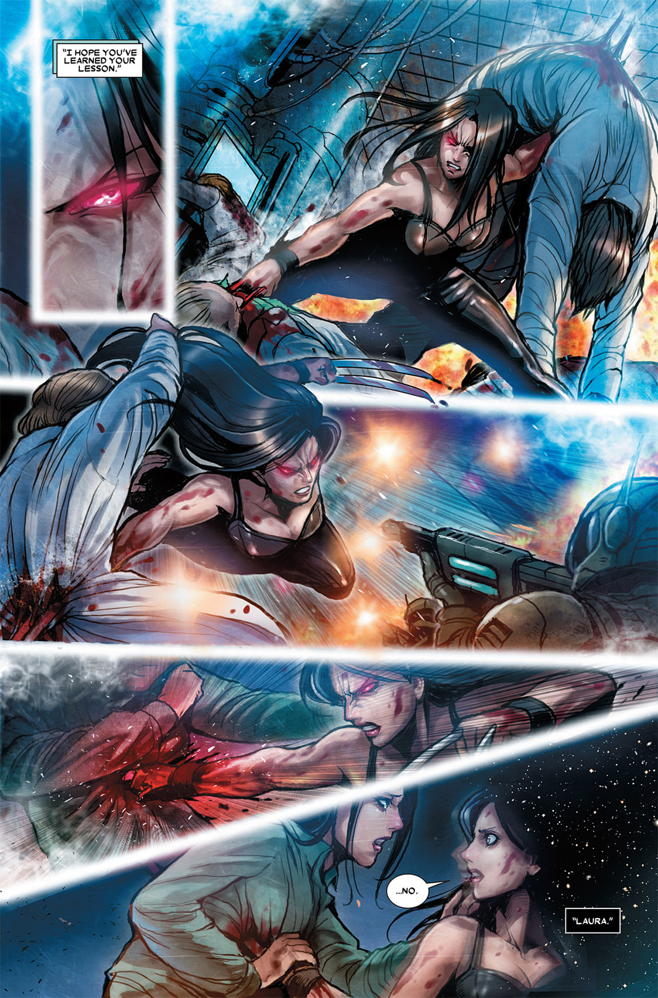 Read online X-23 (2010) comic -  Issue #3 - 13