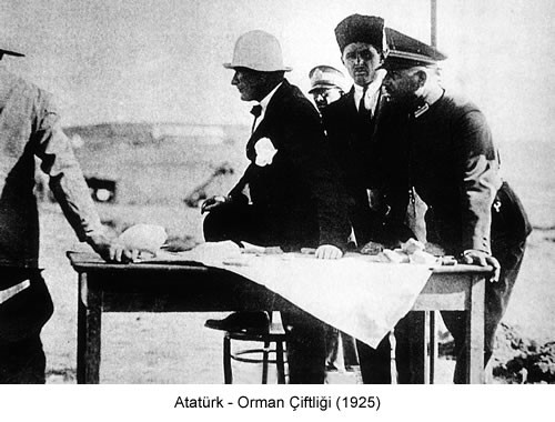 Atatürk Orman Çiftliği 1925 Fotoğraf