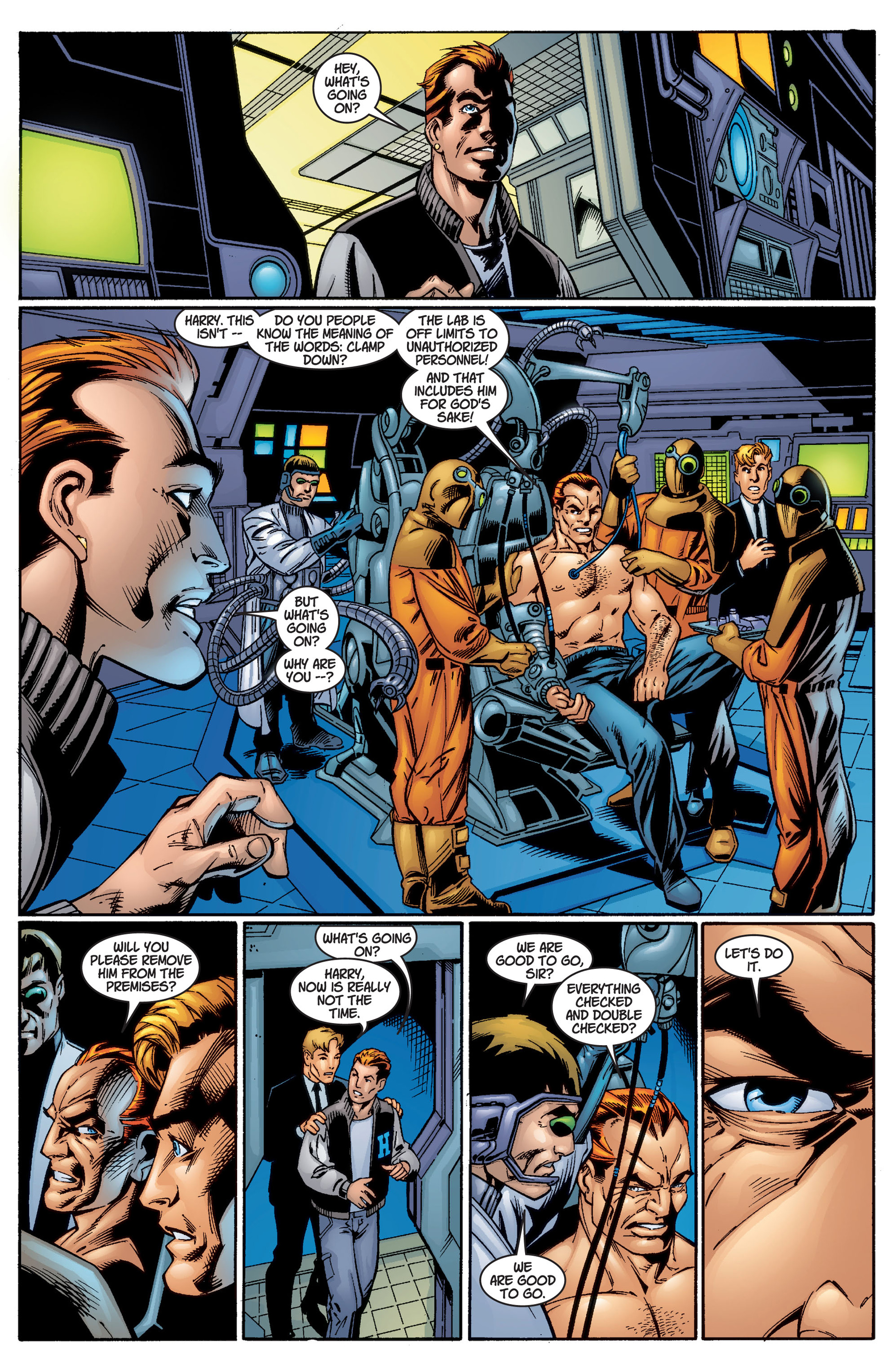 Read online Ultimate Spider-Man (2000) comic -  Issue #3 - 21