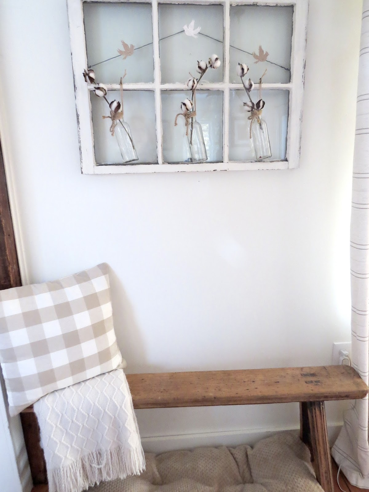 The Long Awaited Home: Decorating on a Dime - Old Window