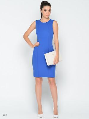 Vestidos de Fiesta Azul