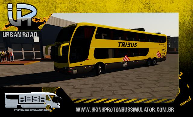 Skin Proton Bus Simulator - G6 1800 Scania K124 Viação Itapemirim