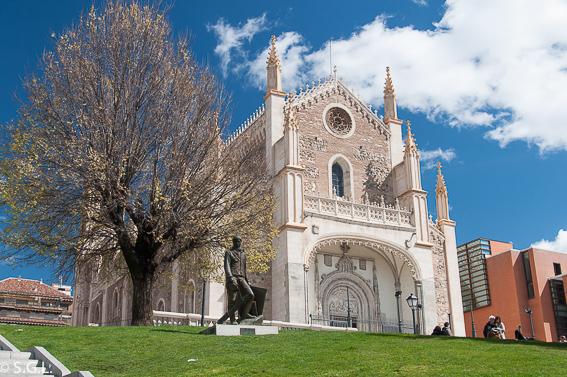 Iglesia de los Jeronimos. Ruta lowcosto por Madrid