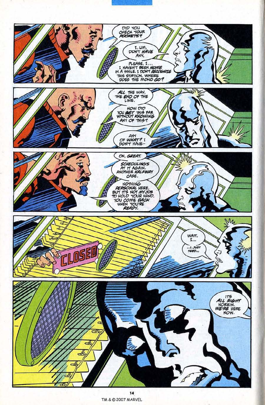 Read online Silver Surfer (1987) comic -  Issue #84 - 16