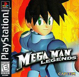 Megaman Legends cover