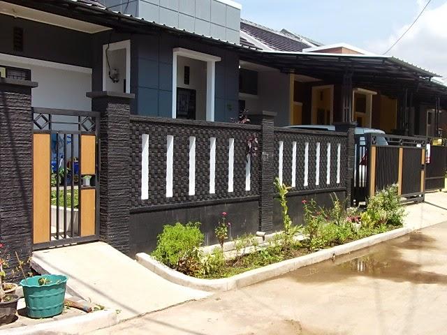 40 Model Pagar Tembok Minimalis  Desainrumahnyacom