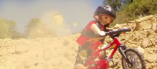 MTB extreme Playmobil Bikers Toys [video] - Bike T3CH