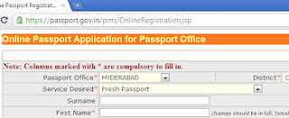 How to apply for the fresh passport Reissue the passport online