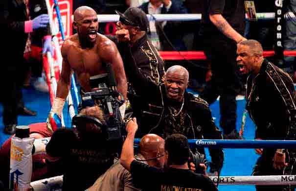 Floyd Mayweather vs. Conor McGregor: ¿cuánto ganó Money por minuto?