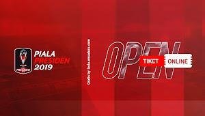 Ini Tiket Online Piala Presiden 2019
