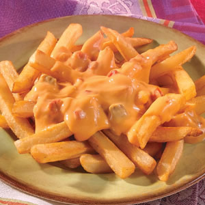 French Fries with Cheese Recipe