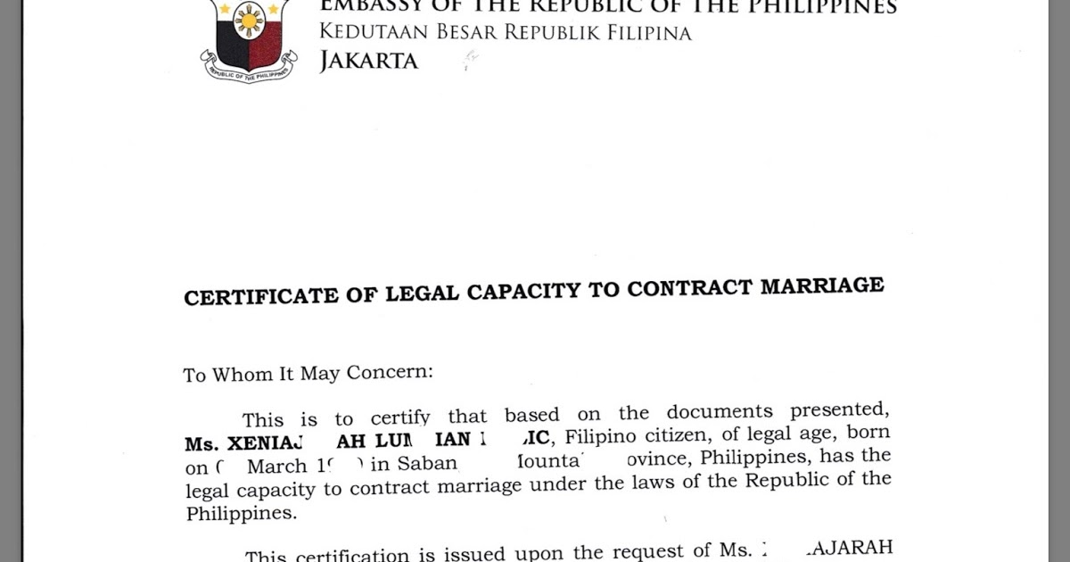 Heart To Heart Pinoy Mixed Marriage Requirements And Legal
