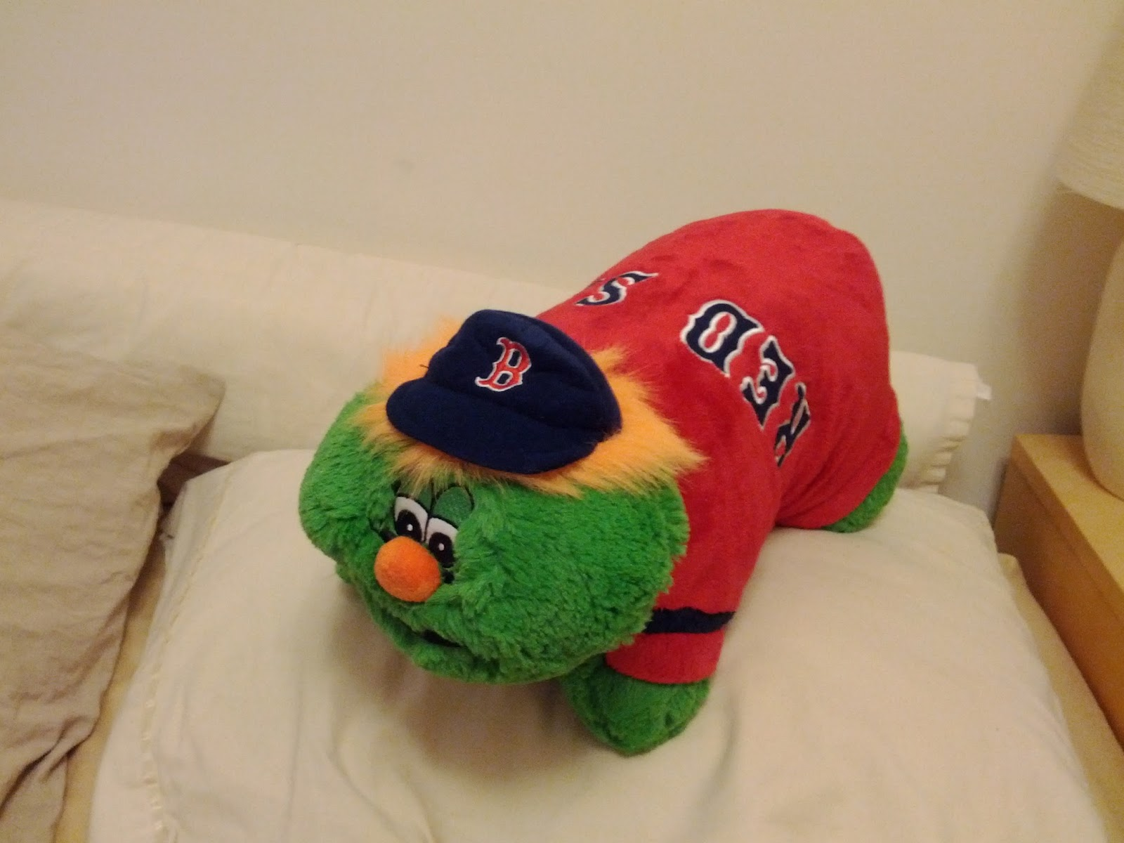 30 And Counting Wally The Green Monster Pillow Pet