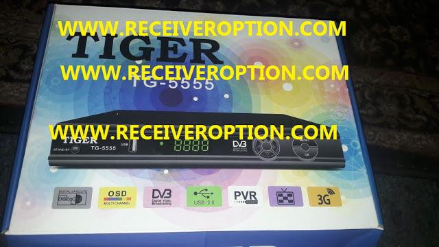 TIGER TG-5555 HD RECEIVER POWERVU KEY FIXED NEW SOFTWARE