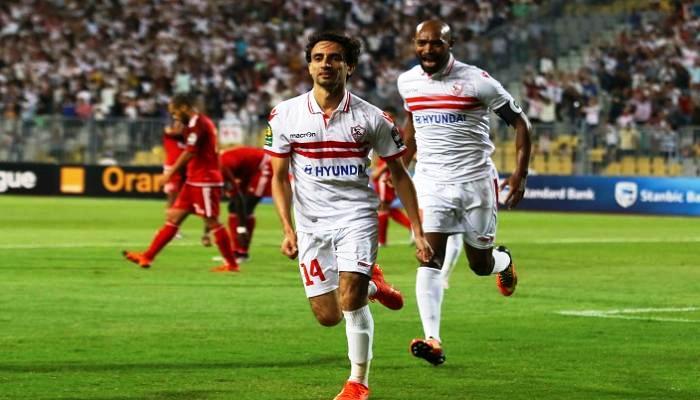 شاهد بالفيديو اهداف وملخص مباراة الزمالك والوداد المغربى 4-صفر