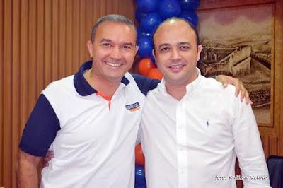 Pré-candidato a prefeito, Kelps assiste Klaus alinhado com Álvaro