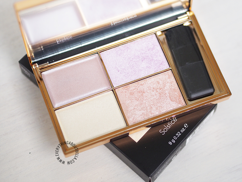 beauty blogger Indonesia - review sleek soltice highlighting palette