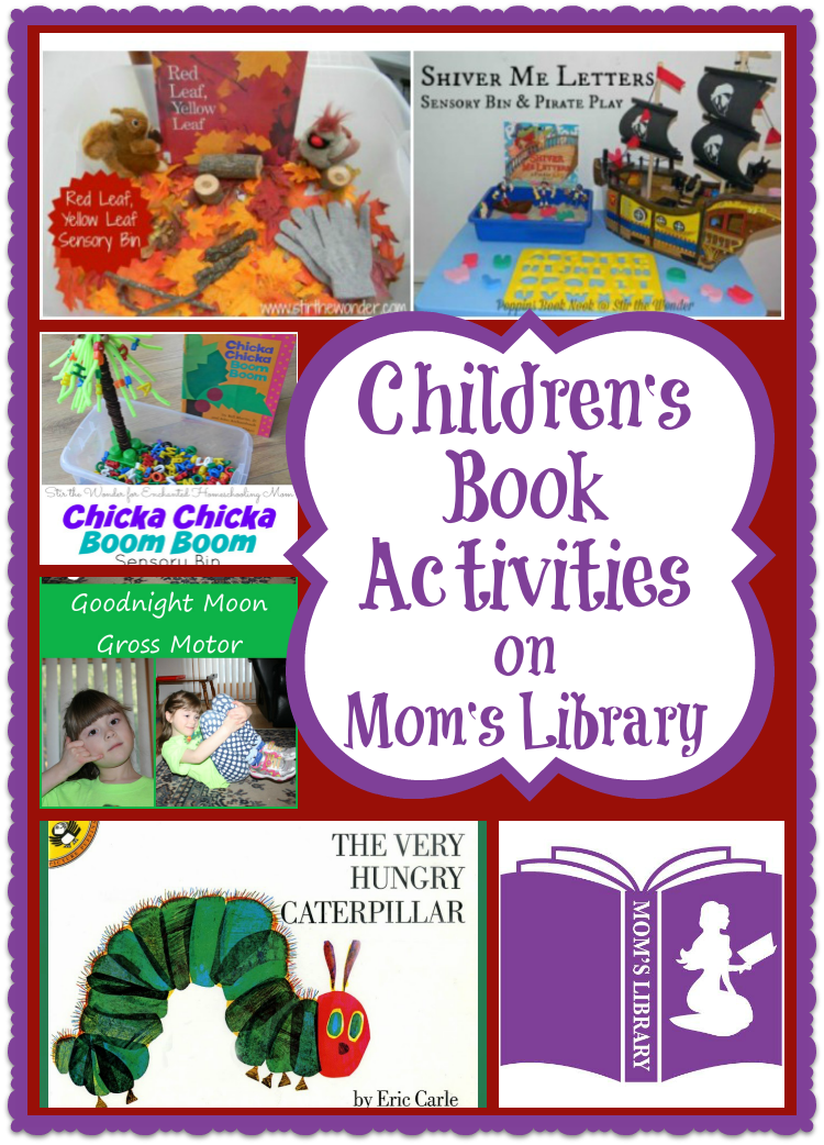 Children's Book Activities on Mom's Library