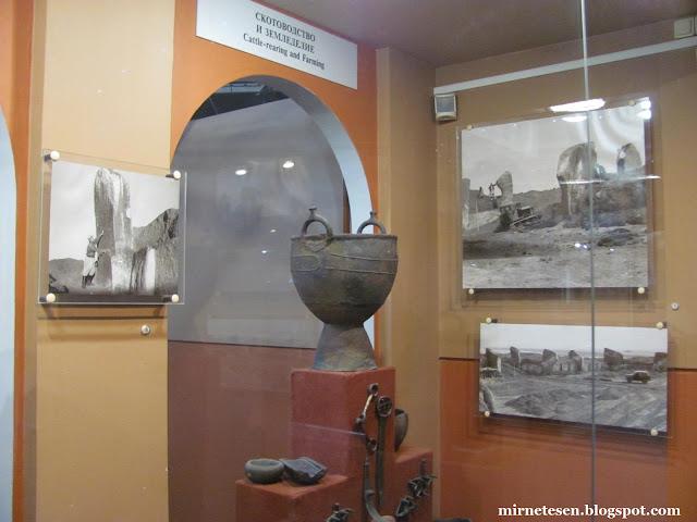 Красноярский краеведческий музей - Древние монолиты, найденные в Сибири