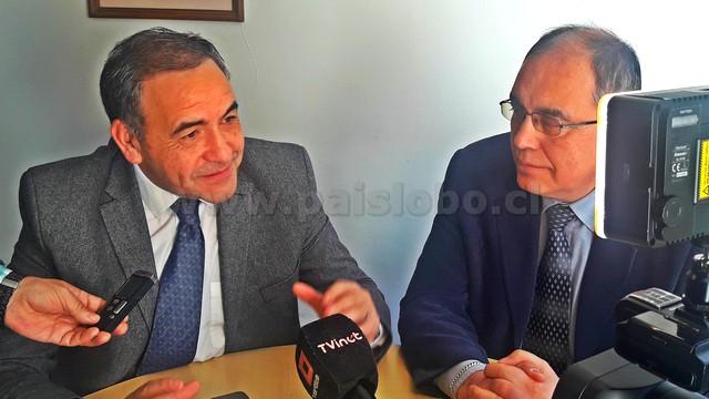 Diputado Espinoza y Concejal Carrillo